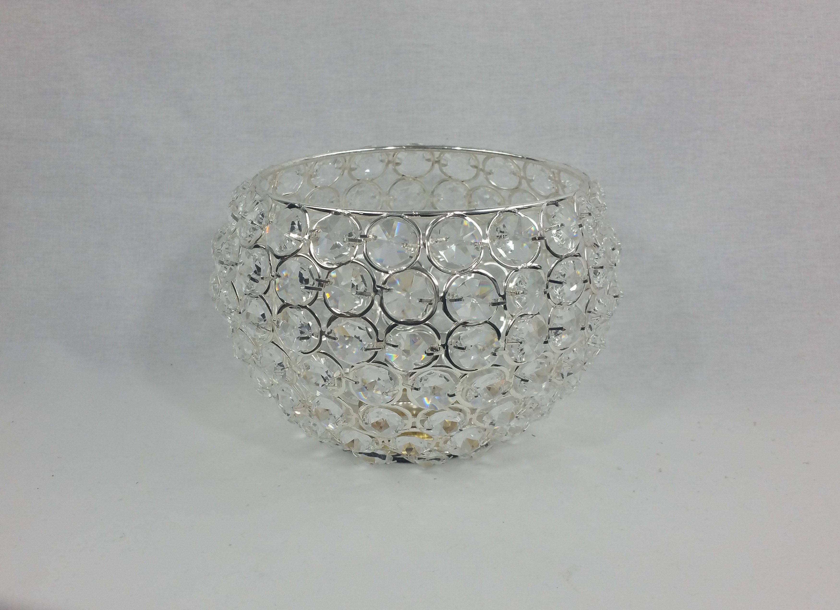 Crystal bowl. 15cm x 10cm. From £4 each.