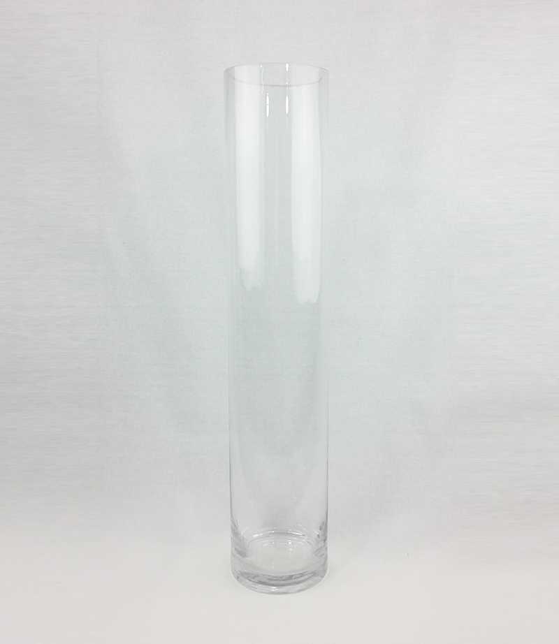 Cylinder vase. 50cm tall. From £4 each.