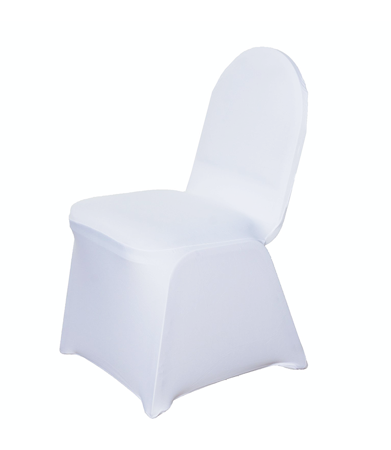 Spandex chair cover. From £1.50 each.