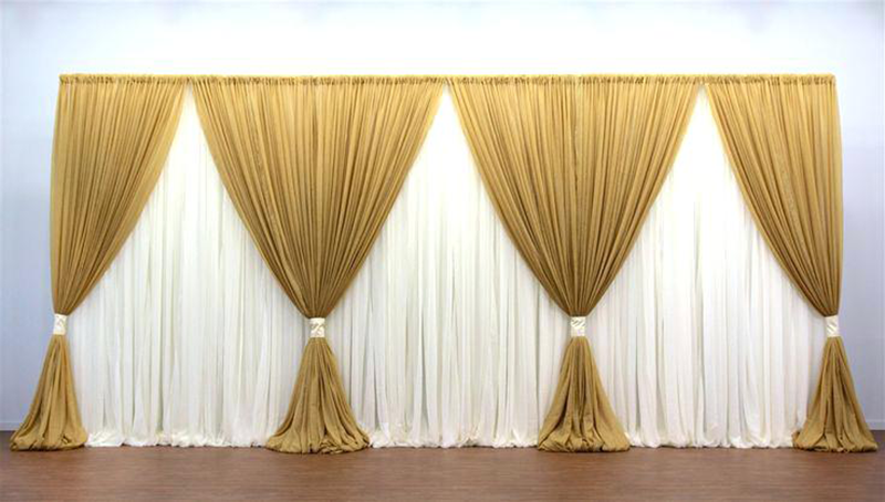 White backdrop. 8 mtrs. From £250. (Note: all white).