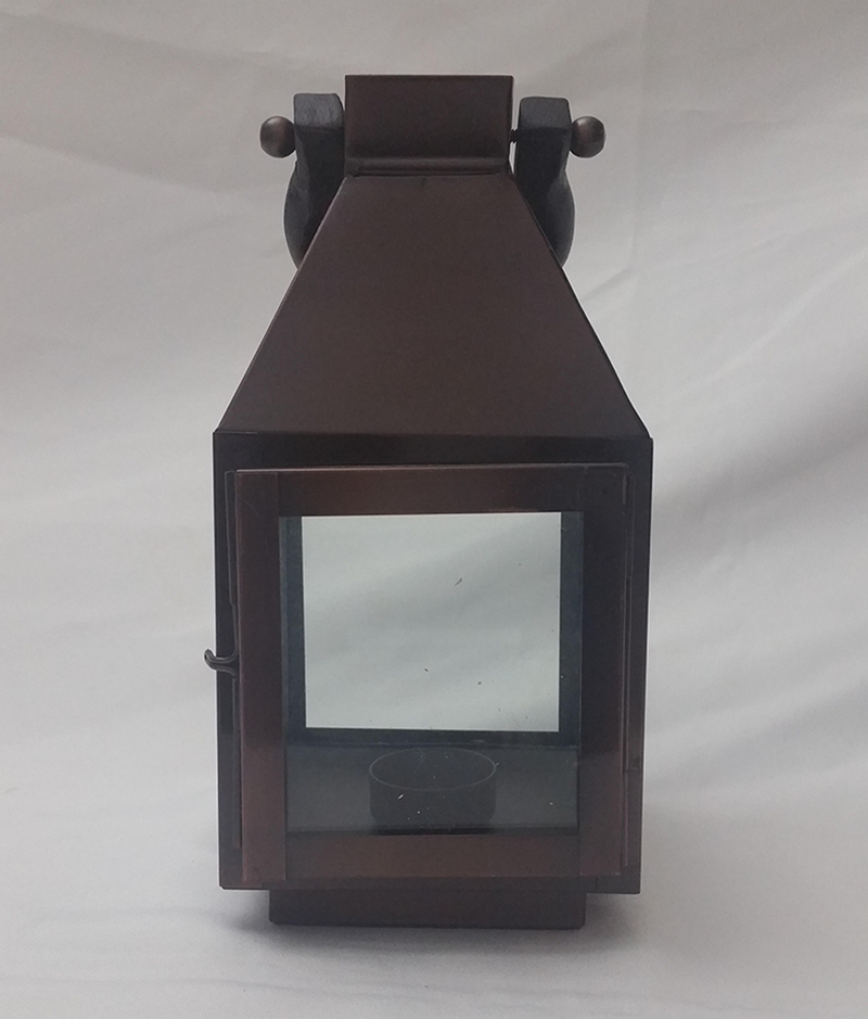 Brown lantern. 26cm x 16cm. From £4.50 each.
