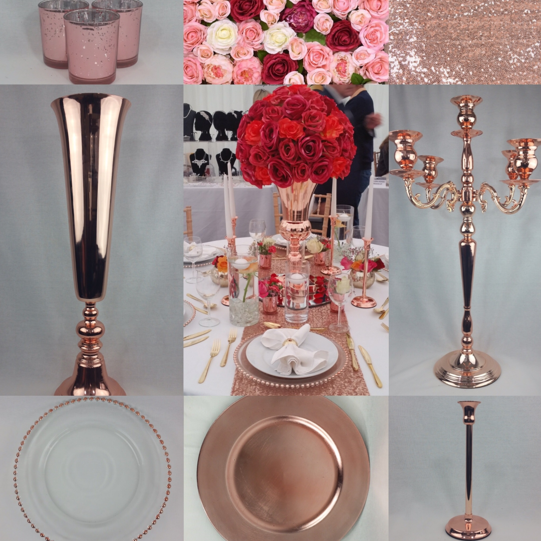 Rose Gold Wedding Decor Is The New Trends And A Must For Your Big Day